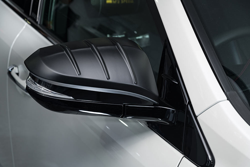 Door Mirror Cover (ABS製) 80VOXY / 80NOAH / 80ESQUIRE MC前/後専用